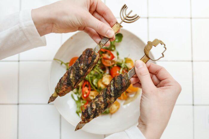 Люля-кебаб мясо
