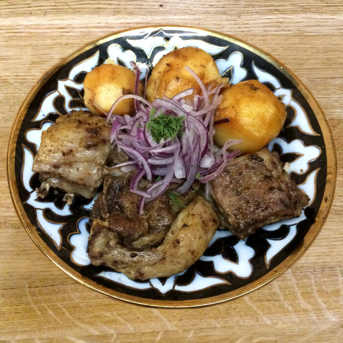Казан-кебаб мясо
